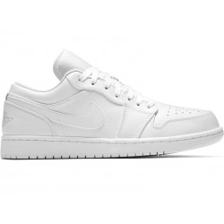 BUTY NIKE AIR JORDAN 1 LOW (553558-109) SKÓRA