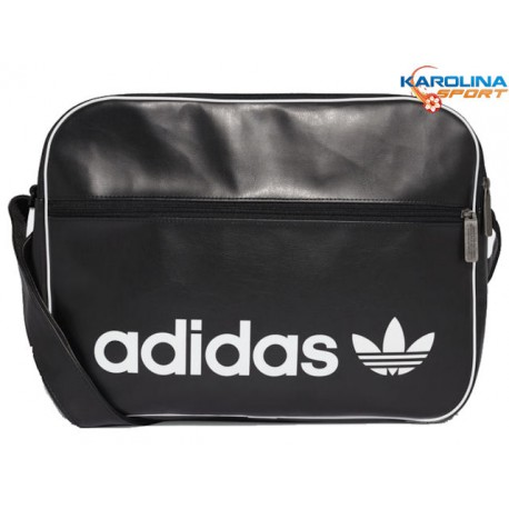 ab0f0af4419e7 TORBA ADIDAS TOREBKA na laptopa DH1002 EKO SKÓRA czarna sportowa