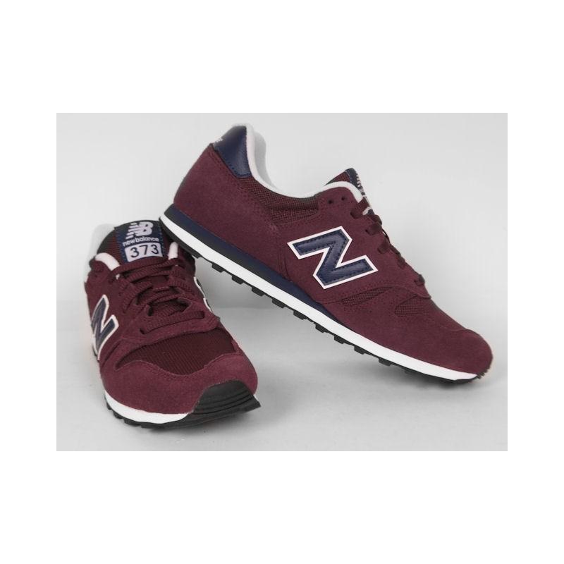 sklep w Wielkiej Brytanii sklep internetowy Stany Zjednoczone BUTY męskie NEW BALANCE 373 ML373PBG BORDO - Karolina Sport
