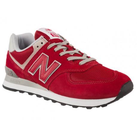zakupy buty do biegania przystępna cena BUTY męskie NEW BALANCE 574 ML574ERD sportowe skóra skórzane czerwone