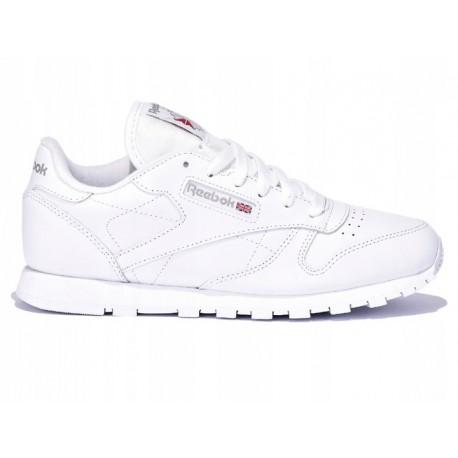de41bca27 buty reebok classic białe damskie BUTY damskie REEBOK CLASSIC LEATHER  białe (50151) SKÓRA NATURLANA!
