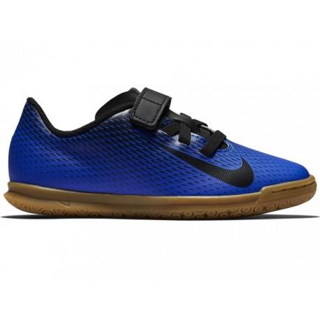wykwintny design specjalne do butów sklep internetowy Halówki dziecięce NIKE BOMBA (844439-400) na rzepy juniorskie Halowe