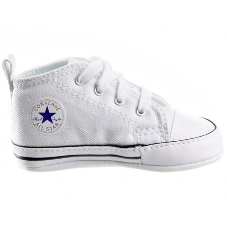 6ed0bd88cc555 Buty TRAMPKI niemowlęce CONVERSE ALL STAR (88877) białe niechodki